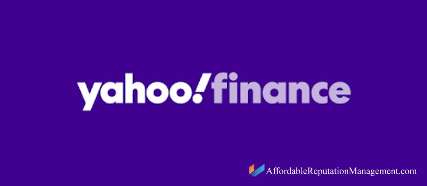 yahoo finance delete comment - affordable reputation management
