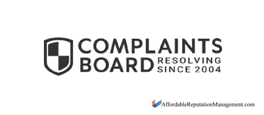 delete complaintsboard link - affordable reputation management