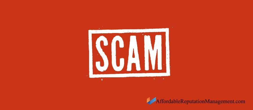 delete scam links - affordable reputation management