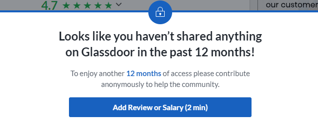 glassdoor hard sell - affordable reputation management